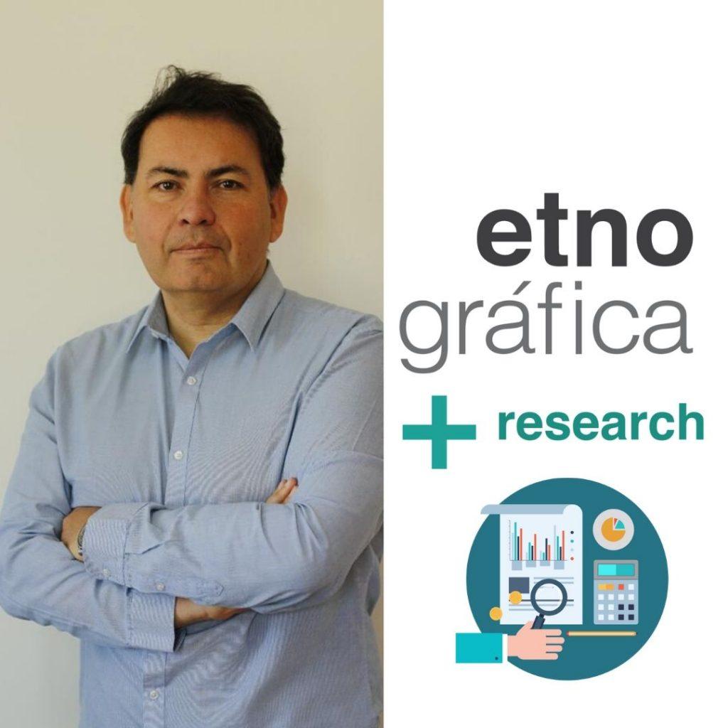 Rodrigo Flores, Director de Estudios en Etnográfica+Research